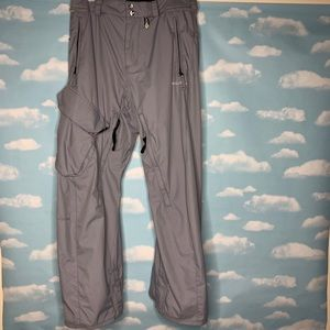 Volcom- Light Blue Snowboarding Pants size small